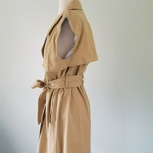 a new day Dresses - A new day trench coat dress nwt